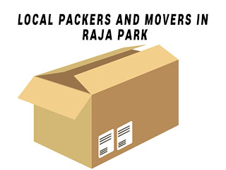 Local packers and movers raja park jaipur
